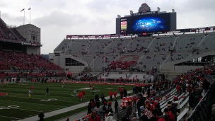 Ohio State vs Michigan 2012