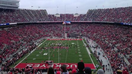 Ohio State vs Michigan 2012