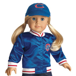chicago cubs american girl jacket
