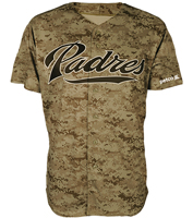 padres promotional jersey